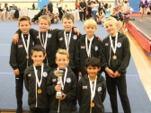 Pinewood Gymnastics Club - TeamGym Squad Boys